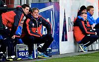 Fotball , 23. april 2016 , Tippeligaen , Eliteserien , <br />  Strømsgodset - Bodø/Glimt 2-0<br /> trener Bjørn Petter Ingebretsen , SIF og Thomas Andre Ødegaard