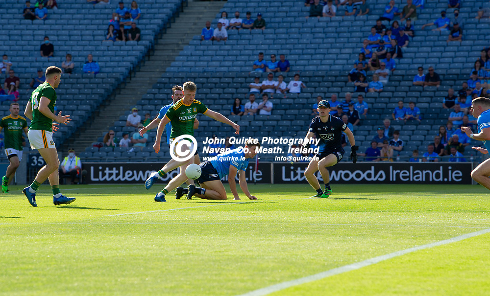 18-07-21. Meath v Dublin - Leinster SFC Semi-Final at Croke Park.<br /> Mathew Costello shoots a Meath goal.<br /> Photo: John Quirke / www.quirke.ie<br /> ©John Quirke Photography, 16 Proudstown Road, Navan. Co. Meath. (info@quirke.ie / 046-9028461 / 087-2579454).