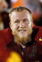 1 September 2007: #79 Sam Baker.  USC Trojans college football team defeated the Idaho Vandals 38-10 at the Los Angeles Memorial Coliseum in CA.  NCAA Pac-10 #1 ranked team first game of the season.