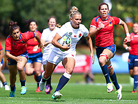 Rugby Union - 2017 Women's Rugby World Cup (WRWC) - Pool B: England vs. Spain<br /> <br /> England's Kay Wilson in action, at The UCD Bowl, Dublin.<br /> <br /> COLORSPORT/KEN SUTTON