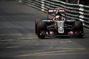 May 20-24, 2015: Monaco F1: Pastor Maldonado, (VEN), Lotus