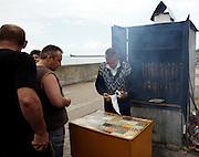 Sprzedawca wędzonych ryb, Hel