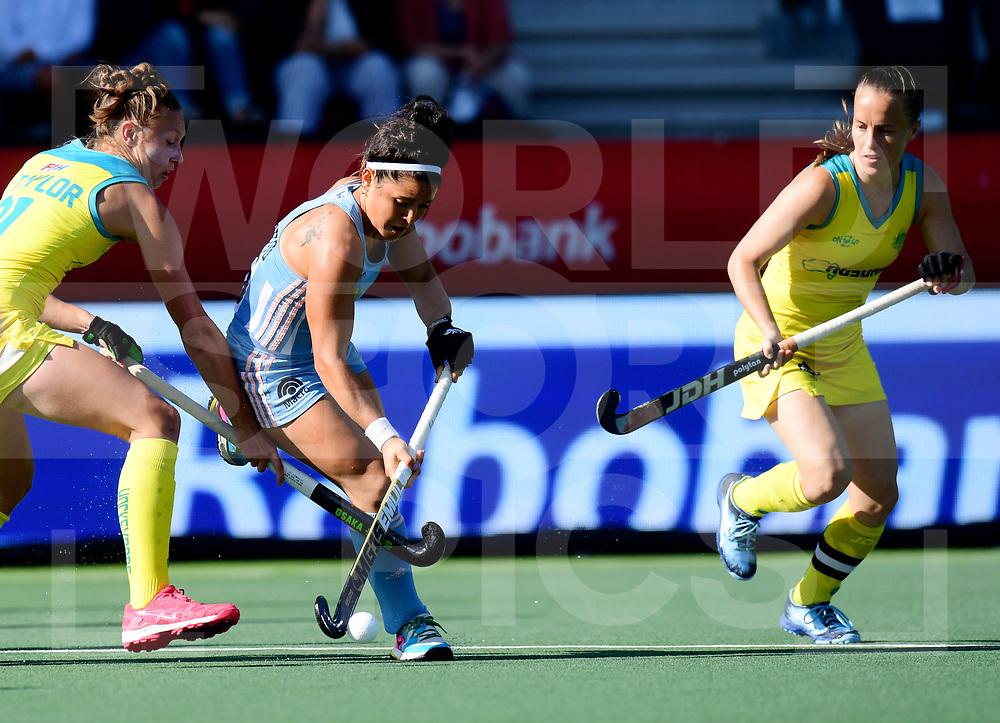 AMSTELVEEN- FIH Pro League<br /> Argentina v Australia (Semi Final 2)<br /> Picture: Maria-Jose Granatto<br /> WORLDSPORTPICS COPYRIGHT FRANK UIJLENBROEK