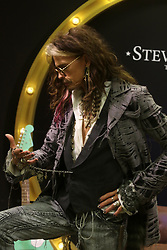 August 1, 2018 - August 1, 2018 (Marbella, Malaga) Steven Tyler (Aerosmith ) creates his own brand with Starlite and presents the new collections designed by the iconic rock legend. The brand 'Steven Tyler Time Traveler' is composed of three different collections of bags and travel items. (Credit Image: © Lorenzo Carnero via ZUMA Wire)
