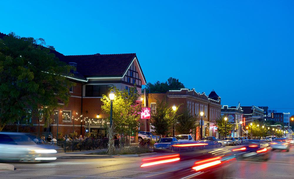 South Grand neighborhood in St. Louis, Missouri