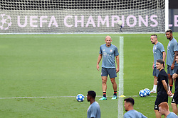 September 18, 2018 - Lisbon, Portugal - Bayern's midfielder Arjen Robben from Nederlands  attends a training session on the eve of the UEFA Champions League Group E football match SL Benfica vs Bayern Munich at the Luz stadium in Lisbon, Portugal on September 18, 2018. (Credit Image: © Pedro Fiuza/NurPhoto/ZUMA Press)