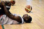 Biella, 14/12/2012<br /> Basket, All Star Game 2012<br /> Allenamento Nazionale Italiana Maschile <br /> Nella foto: david reginald cournooh<br /> Foto Ciamillo