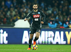 December 1, 2017 - Naples, Italy - Raul Albiol of Napoli during the Serie A match between SSC Napoli and Juventus at Stadio San Paolo on December 1, 2017 in Naples, Italy. (Credit Image: © Matteo Ciambelli/NurPhoto via ZUMA Press)