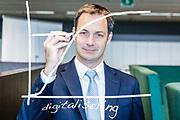Brussels Belgium 14 Juli 2017 Alexander De Croo is vicepremier voor Open Vld in de federale regering.