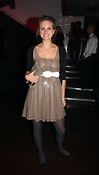 BRYONY DANIELS at a party to celebrate Zandra Rhodes's return to London Fashion week and the launch of a limited edition of M.A.C makeup at Silver, 17 Hanover Square, London W1 on 20th September 2006.<br /><br />NON EXCLUSIVE - WORLD RIGHTS