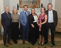 Pete McDonagh, Deirdre , Declan and Denise Moran Liz and Pat Sammon pictured at Kilmeena Gaa Club Valentine's Dinner dance function at Knockranny House Hotel.<br />