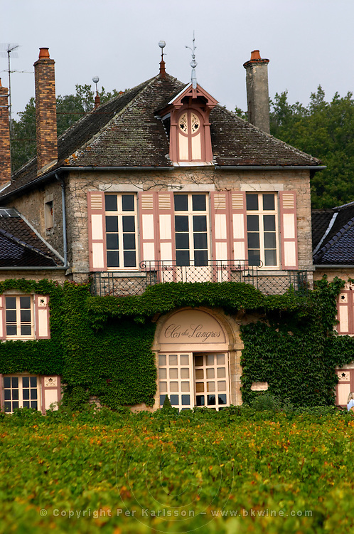 the main building clos des langres ardhuy nuits-st-georges cote de nuits burgundy france