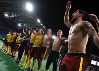 Sparta Praga Celebration Esultanza <br /> Roma 17-03-2016 Stadio Olimpico Football Europa League Round of 16 second leg 2015/2016 Lazio - Sparta Praha. Foto Andrea Staccioli / Insidefoto