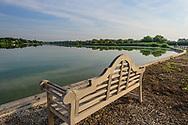 Bench, Halsey Neck Pond,  Southampton, NY