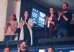 Prince Harry's girlfriend Meghan Markle (2nd left) during the Invictus Games Closing Ceremony Air Canada Centre in Toronto, Canada.