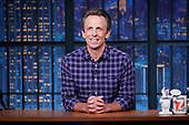 """September 20, 2021 - USA: NBC's """"Late Night with Seth Meyers"""" - Episode:"""