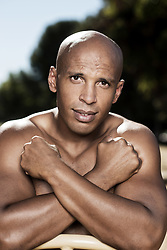"""Joel Bouraïma aka """"Coach Joe"""" is the Kardashian's family fitness coach and appeared on several episodes of """"Keeping Up with the Kardashians"""". He is working with French actors Omar Sy and Gad Elmaleh. Photo by Lionel Hahn/AbacaPress.com"""