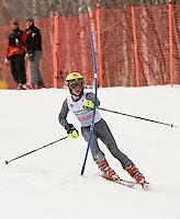 J4 boys second run of slalom during  BWL Championships at Gunstock Mountain Resort March 13, 2010....