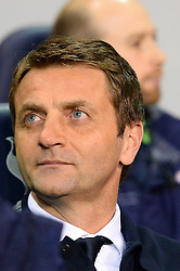 Tottenham's manager Tim Sherwood  - Photo mandatory by-line: Mitchell Gunn/JMP - Tel: Mobile: 07966 386802 07/04/2014 - SPORT - FOOTBALL - White Hart Lane - London - Tottenham Hotspur v Sunderland - Premier League