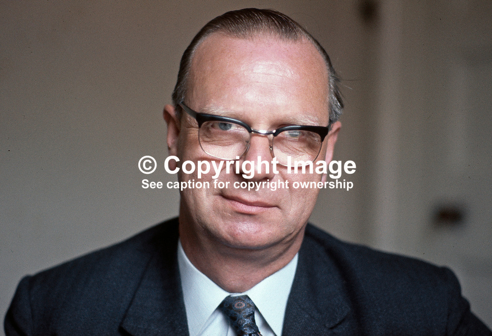 Gerry Fitt, Republican Labour candidate for West Belfast, in the June 18 UK General Election. He retained the seat. Later was founding member of SDLP. Colour. Ref: 19700528001b <br /> <br /> Copyright Image from Victor Patterson, Belfast, UK<br /> <br /> t: +44 28 9066 1296 (from Rep of Ireland 048 9066 1296)<br /> m: +44 7802 353836<br /> e: victorpattersonbelfast@gmail.com<br /> <br /> www.images4media.com<br /> <br /> Please see my full Terms and Conditions of Use at https://www.images4media.com/p/terms-conditions - it is IMPORTANT that you familiarise yourself with them.<br /> <br /> Images used online incur an additional cost. This cost should be agreed in writing in advance. Online images must be visibly watermarked i.e. © Victor Patterson or that of the named photographer within the body of the image. The original metadata must not be deleted from images used online.<br /> <br /> This image is only available for the use of the download recipient i.e. television station, newspaper, magazine, book publisher, etc, and must not be passed on to a third party. It is also downloaded on condition that each and every usage is notified within 7 days to victorpattersonbelfast@gmail.com.