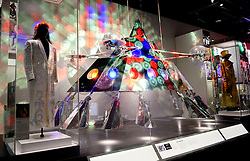 The P-Funk Mothership is on display in the Smithsonian National Museum of African American History and Culture on September 21, 2016 in Washington, DC.The National Museum of African American History and Culture will open on Sept. 24 in Washington thirteen years since Congress and President George W. Bush authorized its construction, the 400,000-square-foot building stands on a five-acre site on the National Mall, close to the Washington Monument. President Obama will speak at its opening dedication.Photo by Olivier Douliery/Abaca