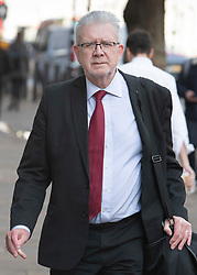 © Licensed to London News Pictures. 19/11/2018. London, UK. Scottish government's Brexit secretary Mike Russell arrives for talks with the Westminster government.  Photo credit: Peter Macdiarmid/LNP