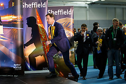 © Licensed to London News Pictures. 08/05/2015. SHEFFIELD, UK. 2015 General Election results for Sheffield Hallam Constituency are being read at on Friday, 8 May 2015. Nick Clegg has been re-elected to Sheffield Hallam but Liberal Democrats suffered great losses across the UK. Photo credit: Tolga Akmen/LNP