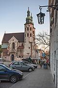 Ulica Grodzka, na drugim planie kościół św. Andrzeja, Kraków, Polska<br /> Grodzka Street, church of St. Andrew in the background, Cracow, Poland