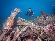 Benwood shipwreck, Key Largo, FL