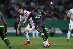 December 13, 2018 - Lisbon, Portugal - Sporting's forward Carlos Mane from Portugal in action during the UEFA Europa League Group E football match Sporting CP vs FC Vorskla Poltava at Alvalade stadium in Lisbon, Portugal on December 13, 2018  (Credit Image: © Pedro Fiuza/NurPhoto via ZUMA Press)