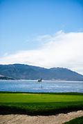 August 15, 2019:  Pebble Beach Concours golf course