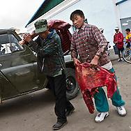 Mongolia. Tsetserleg . market  / marche  Tsetserleg - Mongolie