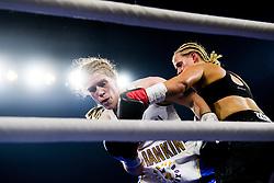 October 21, 2017 - Melsomvik, NORWAY - 171021 Hannah Rankin of Great Britain and Joanna Ekedahl of Sweden fight during the Oslofjord Fight Night on October 21, 2017 in Melsomvik..Photo: Fredrik Varfjell / BILDBYRN / kod FV / 150032 (Credit Image: © Fredrik Varfjell/Bildbyran via ZUMA Wire)