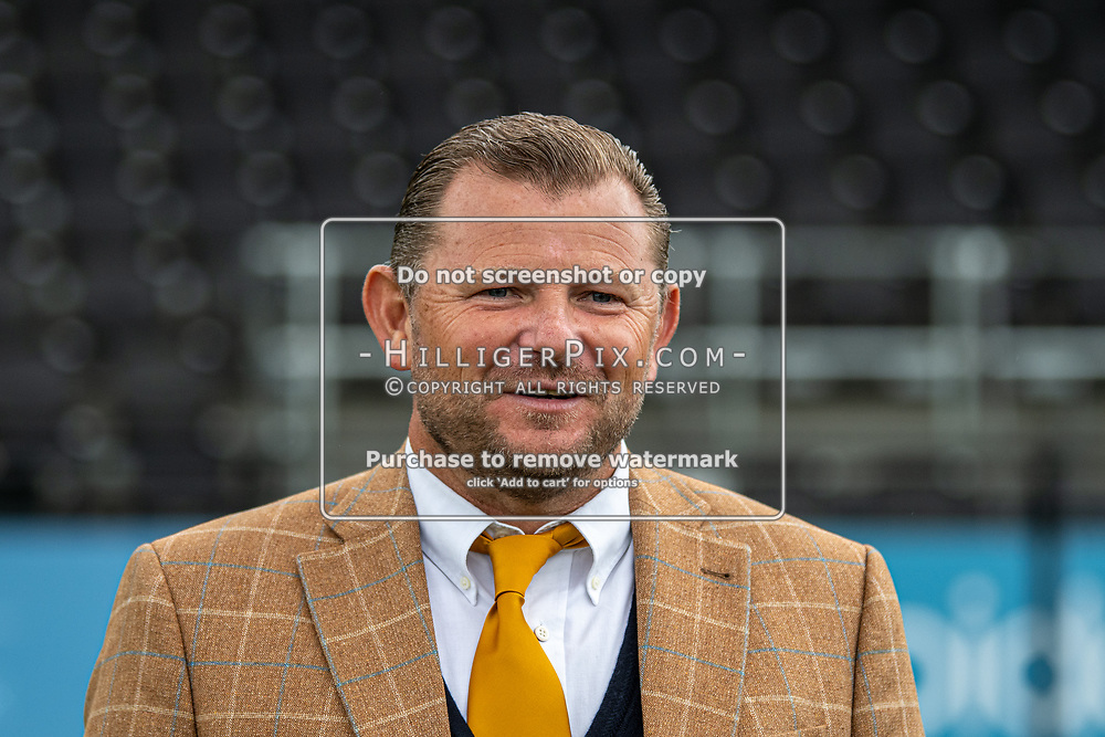 BROMLEY, UK - SEPTEMBER 22: XXXX during the Emirates FA Cup Second Round Qualifier match between Cray Wanderers and Soham Town Rangers at Hayes Lane on September 22, 2019 in Bromley, UK. <br /> (Photo: Jon Hilliger)