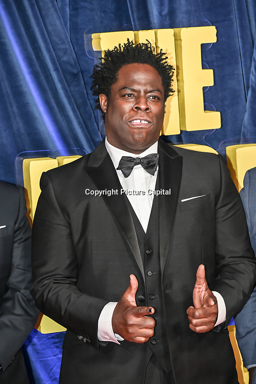 """Jeymes Samuel attended """"The Harder They Fall"""" Opening Night Gala - 65th BFI London Film Festival, Southbank Centre, London, UK. 6 October 2021."""