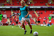 during the EFL Sky Bet League 1 match between Charlton Athletic and Shrewsbury Town at The Valley, London, England on 11 August 2018.