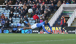 Ivan Toney of Peterborough United scores the opening goal of the game - Mandatory by-line: Joe Dent/JMP - 14/12/2019 - FOOTBALL - Weston Homes Stadium - Peterborough, England - Peterborough United v Bolton Wanderers - Sky Bet League One
