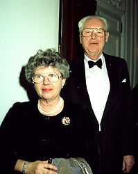 MR & MRS HANS RAUSING the food packaging multi-millionaire in November 1995.