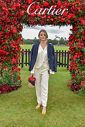 Bea Fresson at the Cartier Queen's Cup Polo 2019 held at Guards Polo Club, Windsor, Berkshire. UK 16 June 2019 - <br /> <br /> Photo by Dominic O'Neill/Desmond O'Neill Features Ltd.  +44(0)7092 235465  www.donfeatures.com