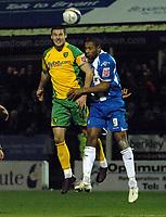 Photo: Ashley Pickering/Sportsbeat Images.<br /> Colchester United v Norwich City. Coca Cola Championship. 15/12/2007.<br /> Jason Shackell of Norwich (L) and Clive Platt of Colchester