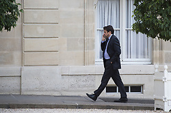 Sylvain Fort at Elysee Palace in Paris on september 10, 2018. Photo by ELIOT BLONDET/ABACAPRESS.COM