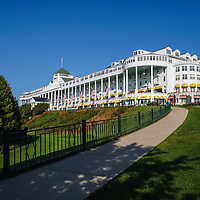 """""""Grand Hotel Mackinac Island""""<br /> <br /> Enjoy a beautiful summer day at the Grand Hotel on Mackinac Island! A wonderful and historic piece of Michigan history!!"""