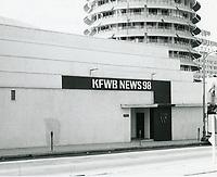 1972 KFWB News Radio 98 on Vine St.