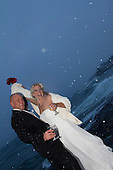 Kelly and Marty's Bluefin Bay Wintery Wedding