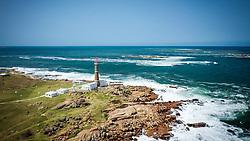 Farol no povoado de Cabo Polonio, no Departamento de Rocha, no Uruguai. FOTO: Jefferson Bernardes/ Agência Preview