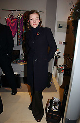 Actress CAMILLA RUTHERFORD at the launch of the Essenziale shop, Grafton Street, London on 12th December 2006.<br /><br />NON EXCLUSIVE - WORLD RIGHTS