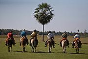 Aquidauana_MS, Brasil...Boiadeiros da fazenda Rio Negro no Pantanal...The cowboy, They work in Rio Negro farm in the Pantanal...Foto: JOAO MARCOS ROSA / NITRO
