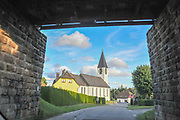 Church in a small village in South Black Forest near Todtnau, Baden-Wurttemberg, Germany