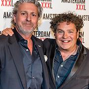 NLD/Amsterdam/20170324 - Uitreiking 2de editie XXXL Magazine, Dirk Zeelenberg en Mark Teurlings