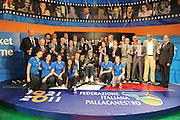 DESCRIZIONE : Milano Italia Basket Hall of Fame<br /> GIOCATORE :  Under 16 femminile Nazionale Maschile Mosca 1980<br /> SQUADRA : FIP Federazione Italiana Pallacanestro <br /> EVENTO : Italia Basket Hall of Fame<br /> GARA : <br /> DATA : 07/05/2012<br /> CATEGORIA : Premiazione<br /> SPORT : Pallacanestro <br /> AUTORE : Agenzia Ciamillo-Castoria/GiulioCiamillo